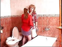 Geölte Porno Tube - sexy lesbische Muschi