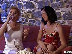 Old and Young porn videos - fucking lesbian