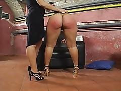 Spanking porn videos - lesbian sex orgy