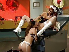 Nurse xxx clips - pussy licking lesbians