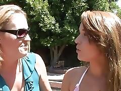 Taboo porn tube - lesbian dildo fucking